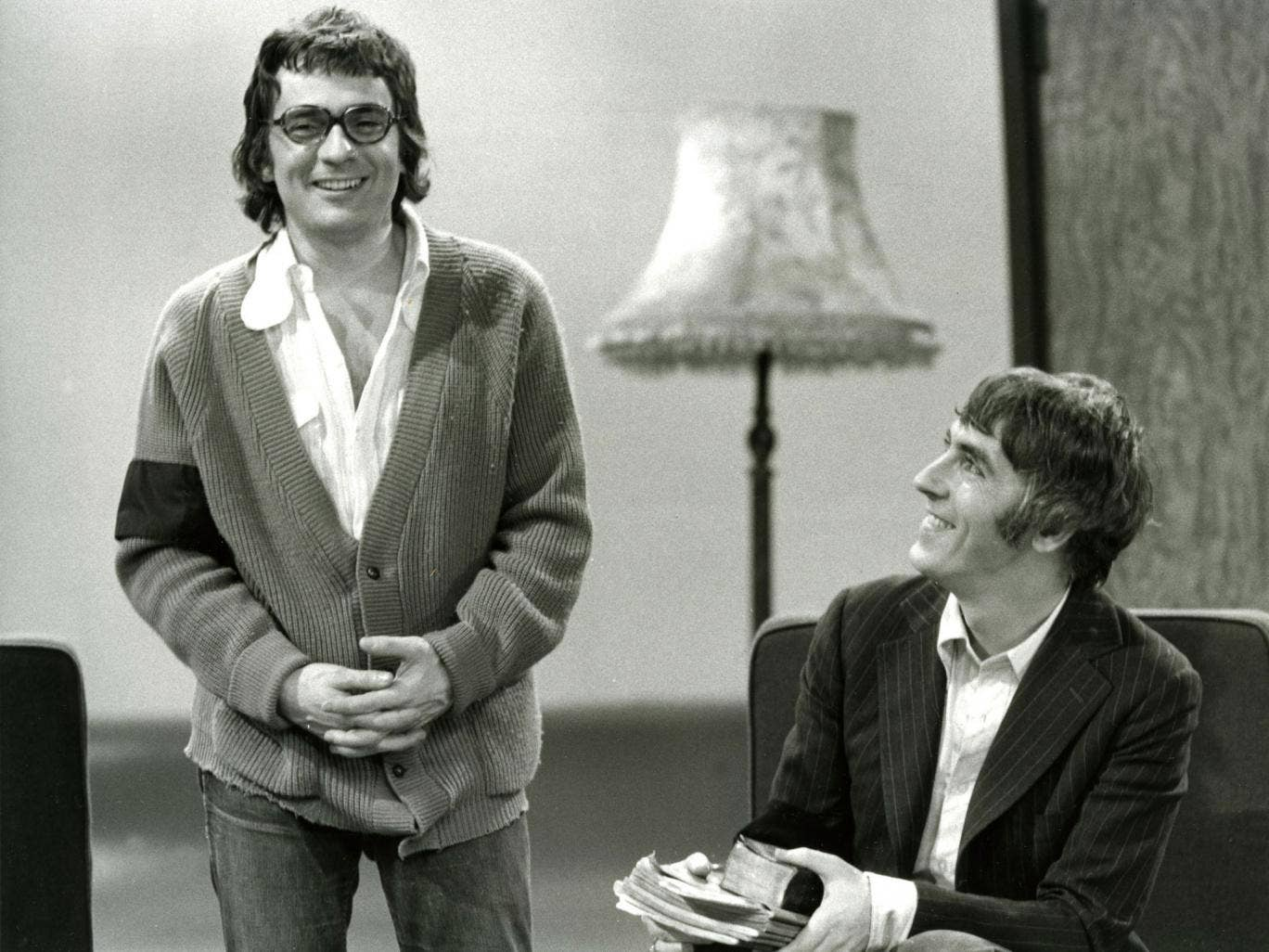 The Comedy Vaults: BBC's Hidden Treasure, pictured here: Dudley Moore and Peter Cook in 'Show of the Week' from 1974