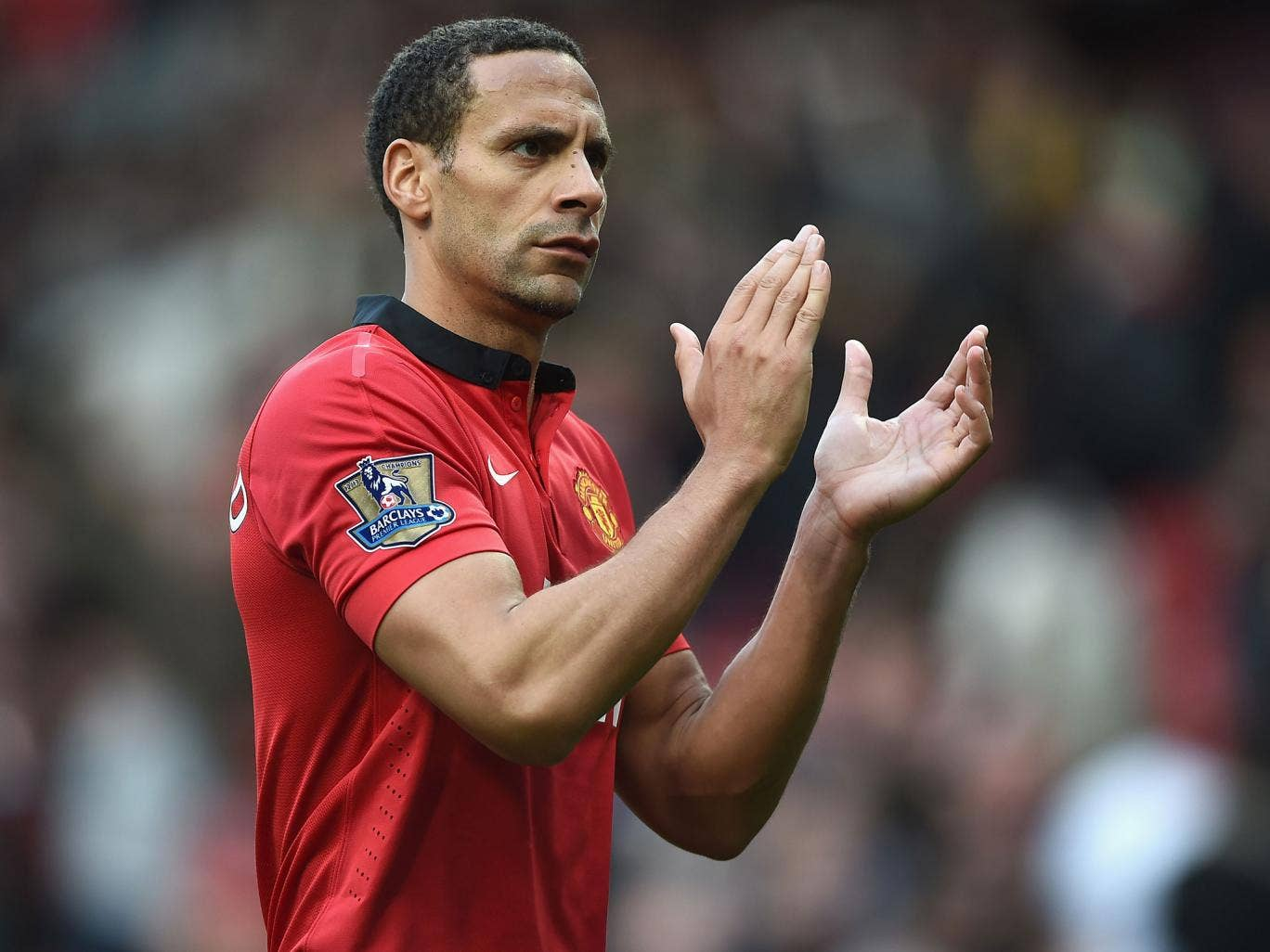 Rio Ferdinand helped United win six league titles, two League Cups, one Champions League and a Club World Cup