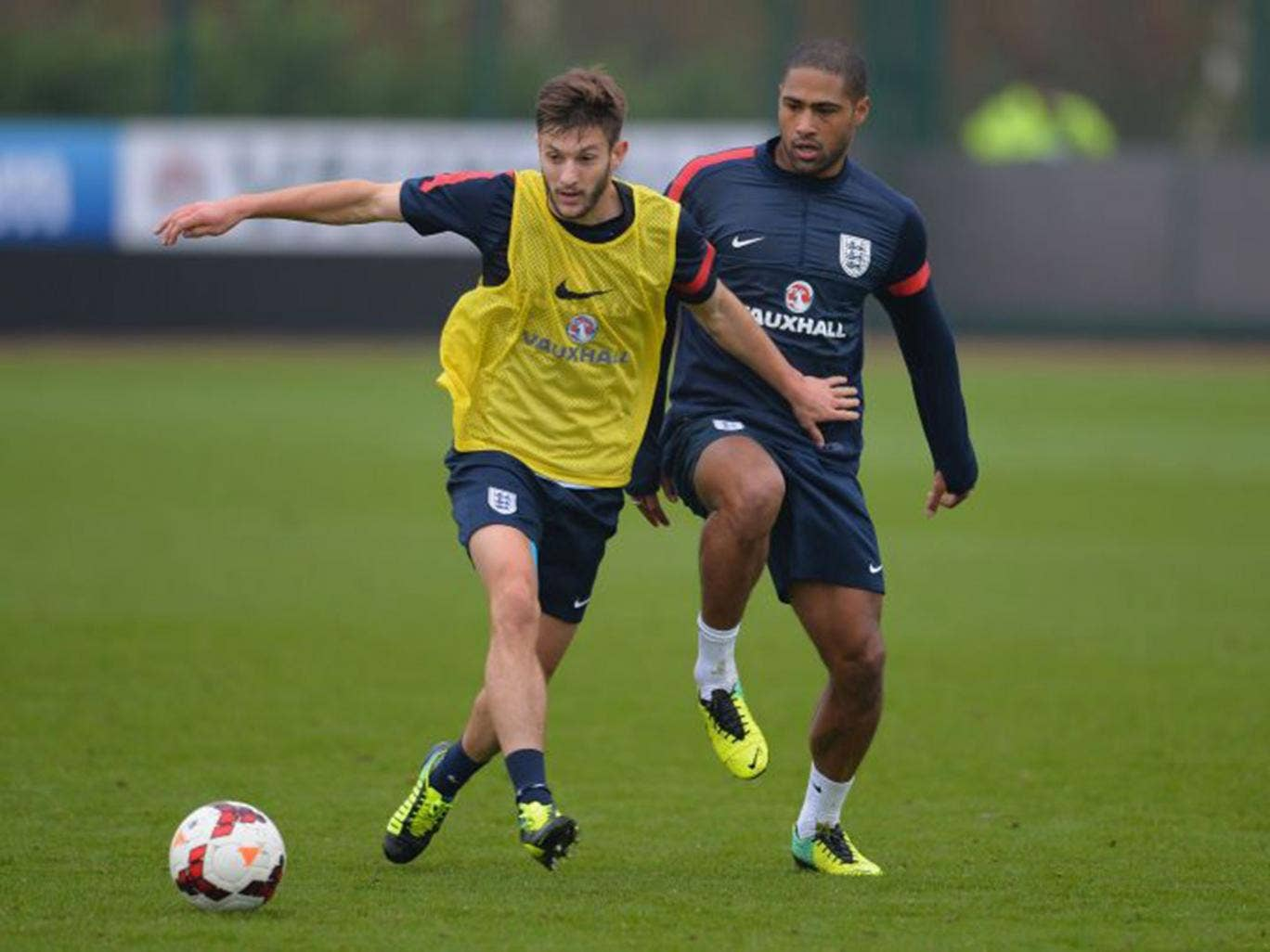 Adam Lallana, who Liverpool want to buy from Southampton, will have to put England first, says Roy Hodgson