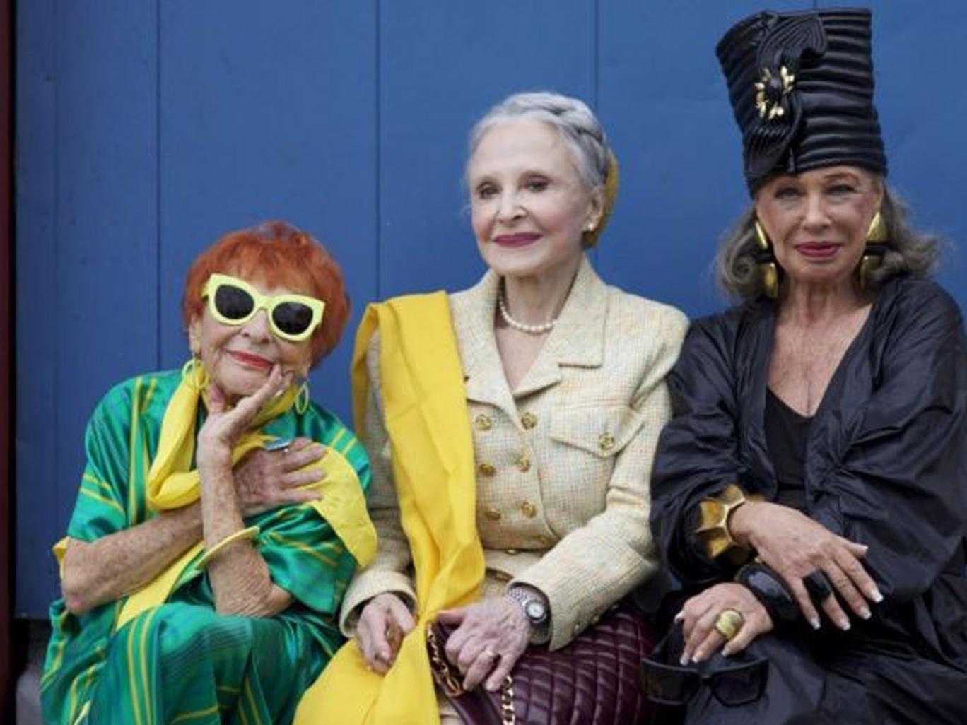 Golden girls: the stars of 'Advanced Style'
