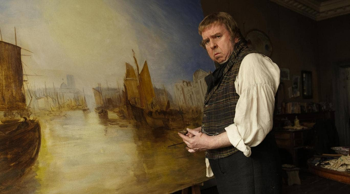 Timothy Spall stars in Mike Leigh's new film Mr Turner