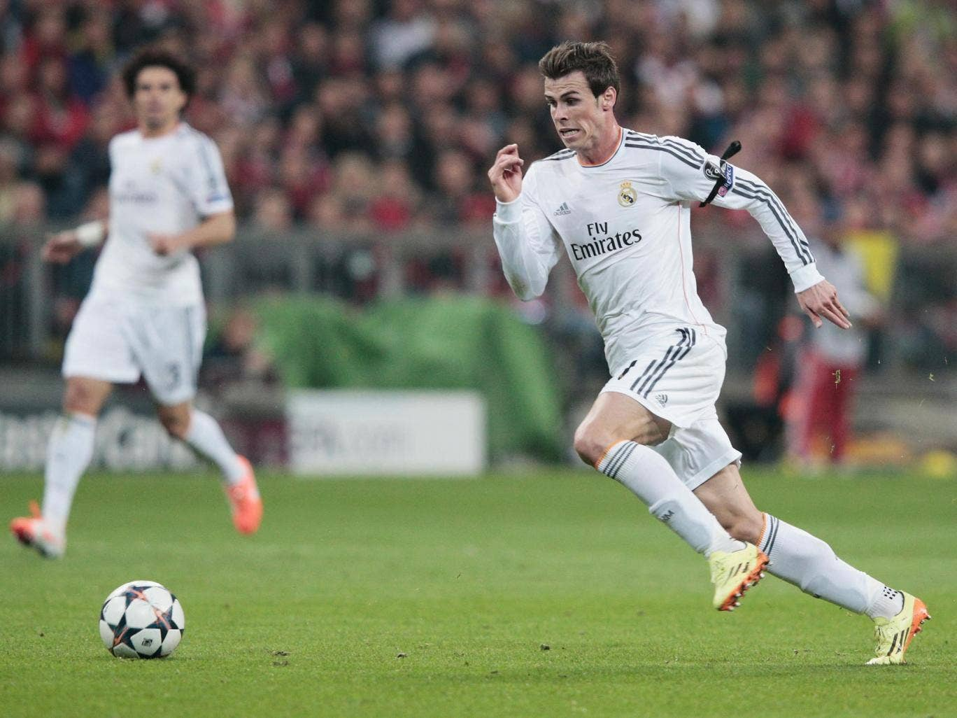 Gareth Bale wants to end his season with victory in the Champions League final
