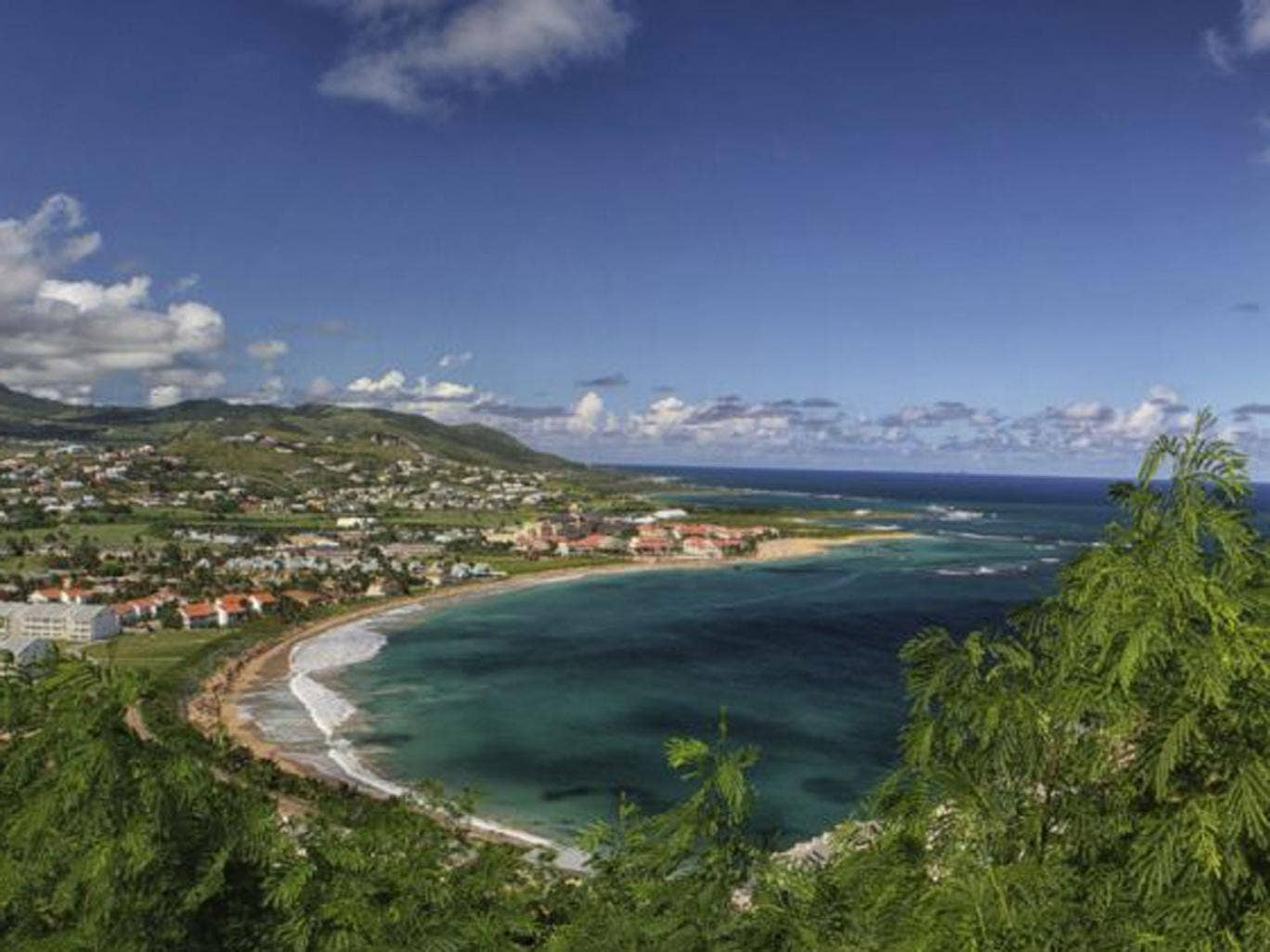 Green dream: St mKitts and Nevis is the perfect place to relax