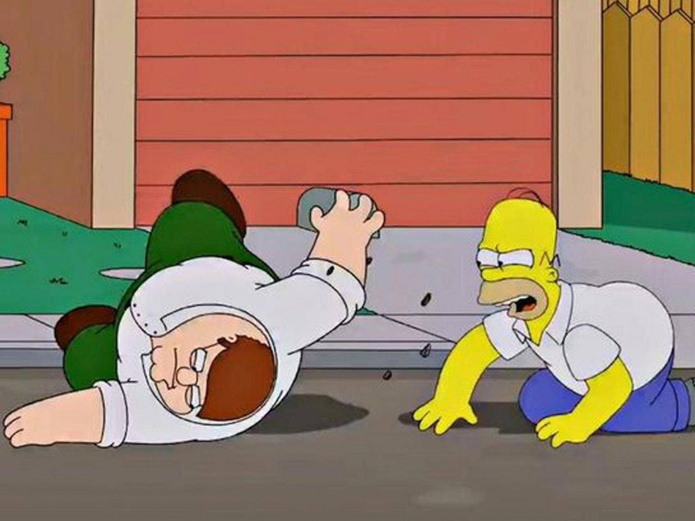 Tangled up: the Simpsons/Family Guy crossover episode