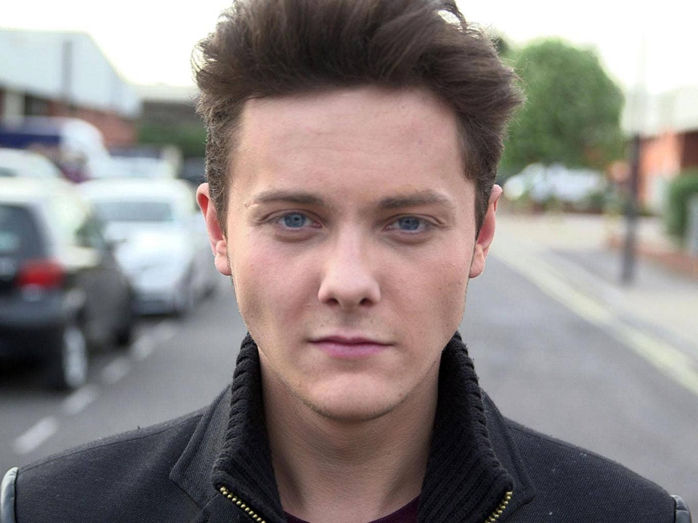 Tyger Drew-Honey, the 18-year-old actor played eldest son Jake in 'Outnumbered'