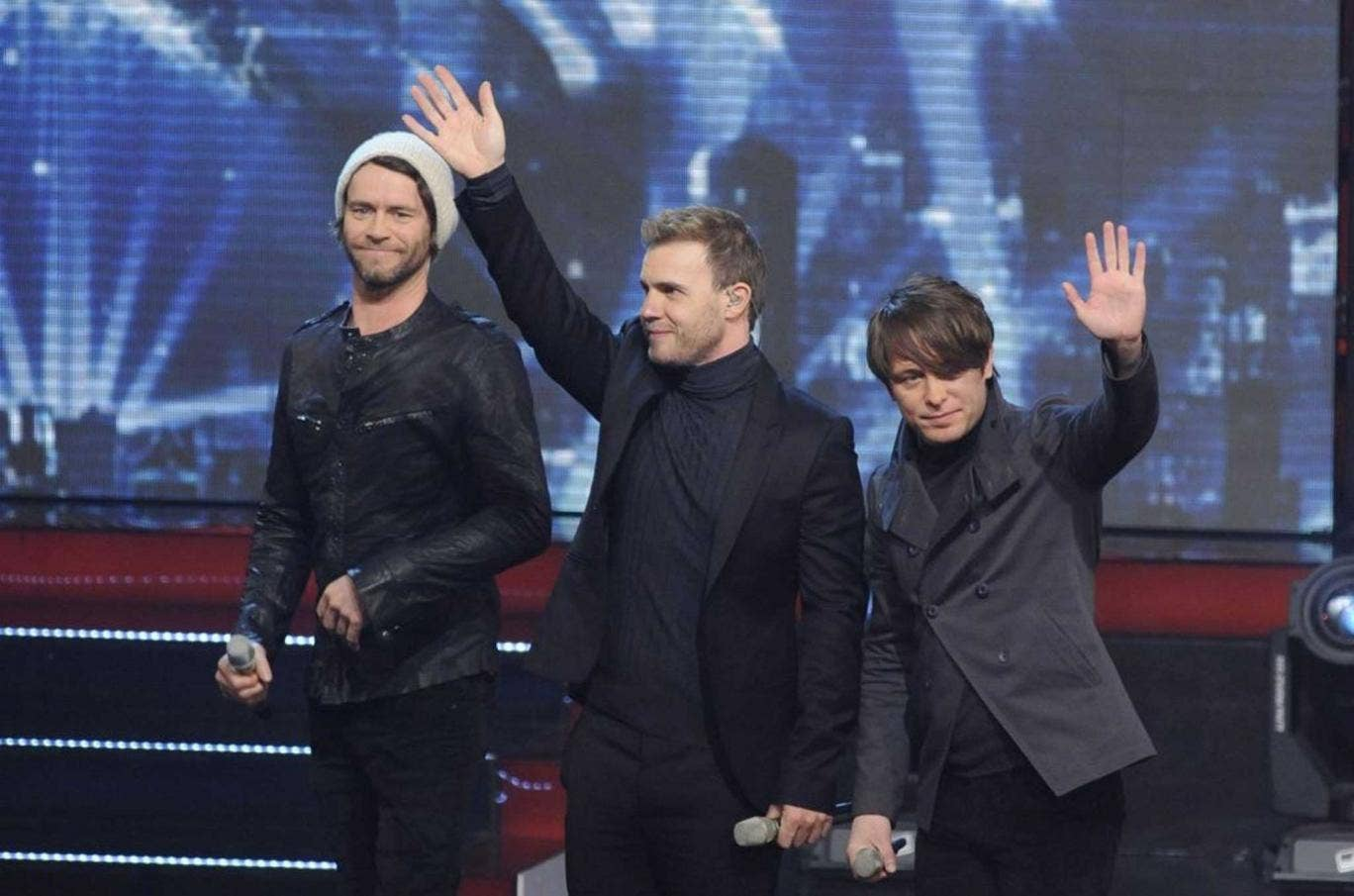 Could it be magic? From left, Howard Donald, Gary Barlow and Mark Owen made their tax bills disappear. But, it is argued, we all avoid tax