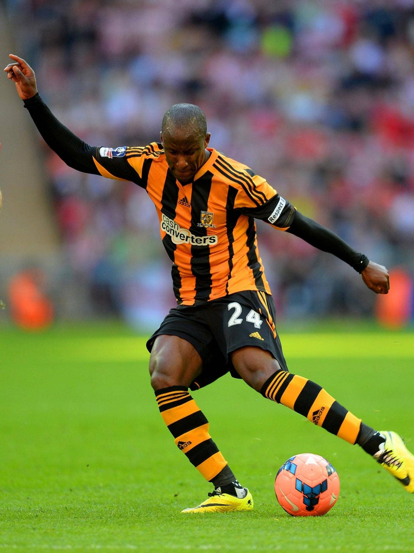 Sone Aluko represents Hull's best chance of scoring in the FA