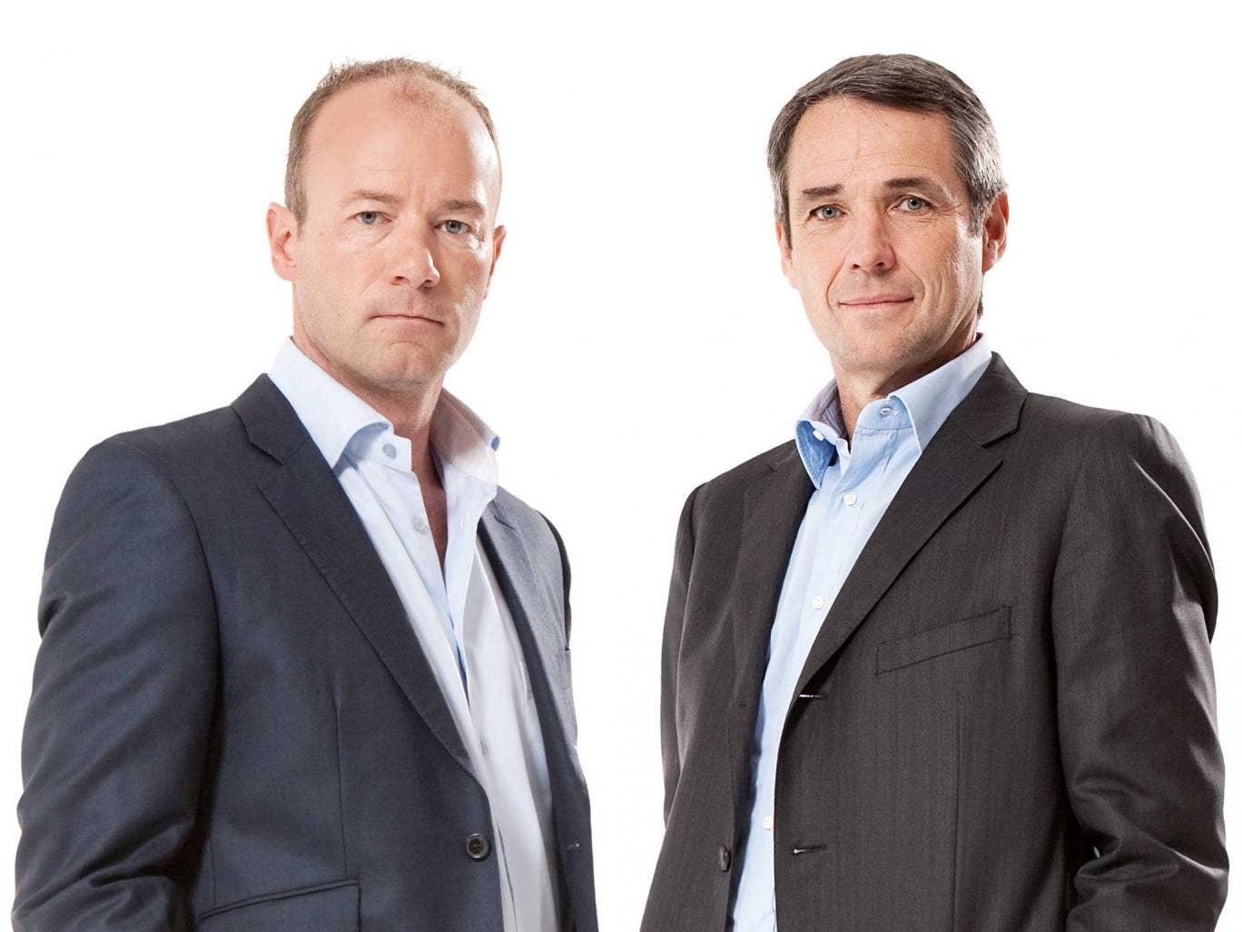 Dream team? The BBC's Alan Shearer (left) and Alan Hansen