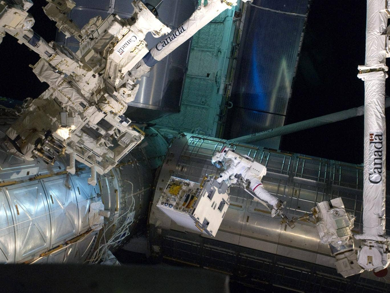 American crews have been transported to the International Space Station by Soyuz rockets since 2011