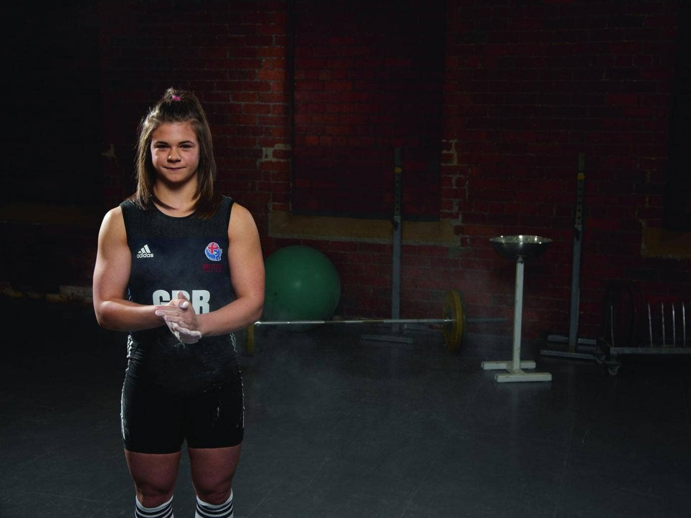 Lift-off: Rebekah Tiler is aiming for a top-10 result in Rio in 2016, then gold at Tokyo 2020