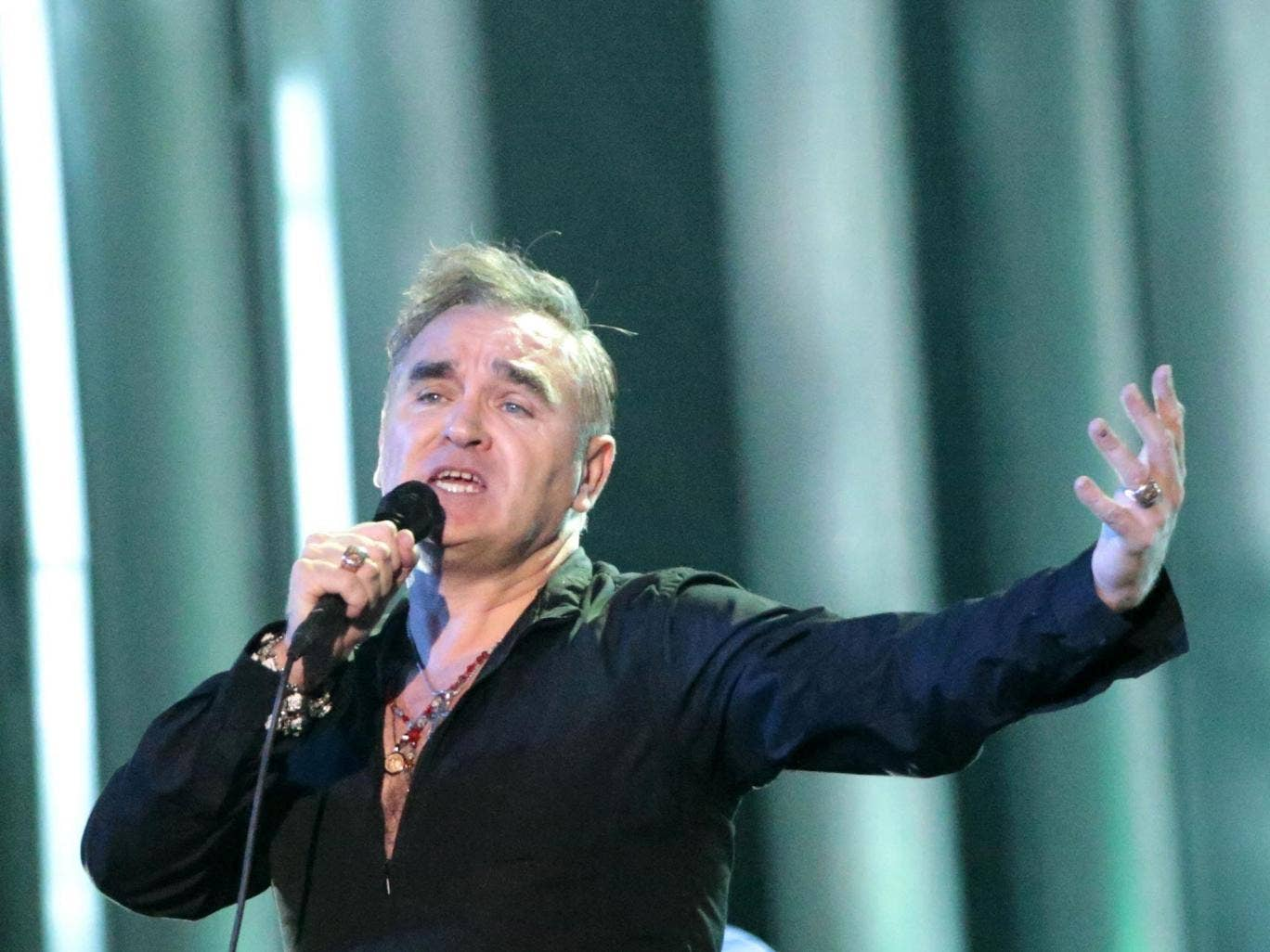 Untwitterably yours: Singer Morrissey has said he doesn't have a twitter account
