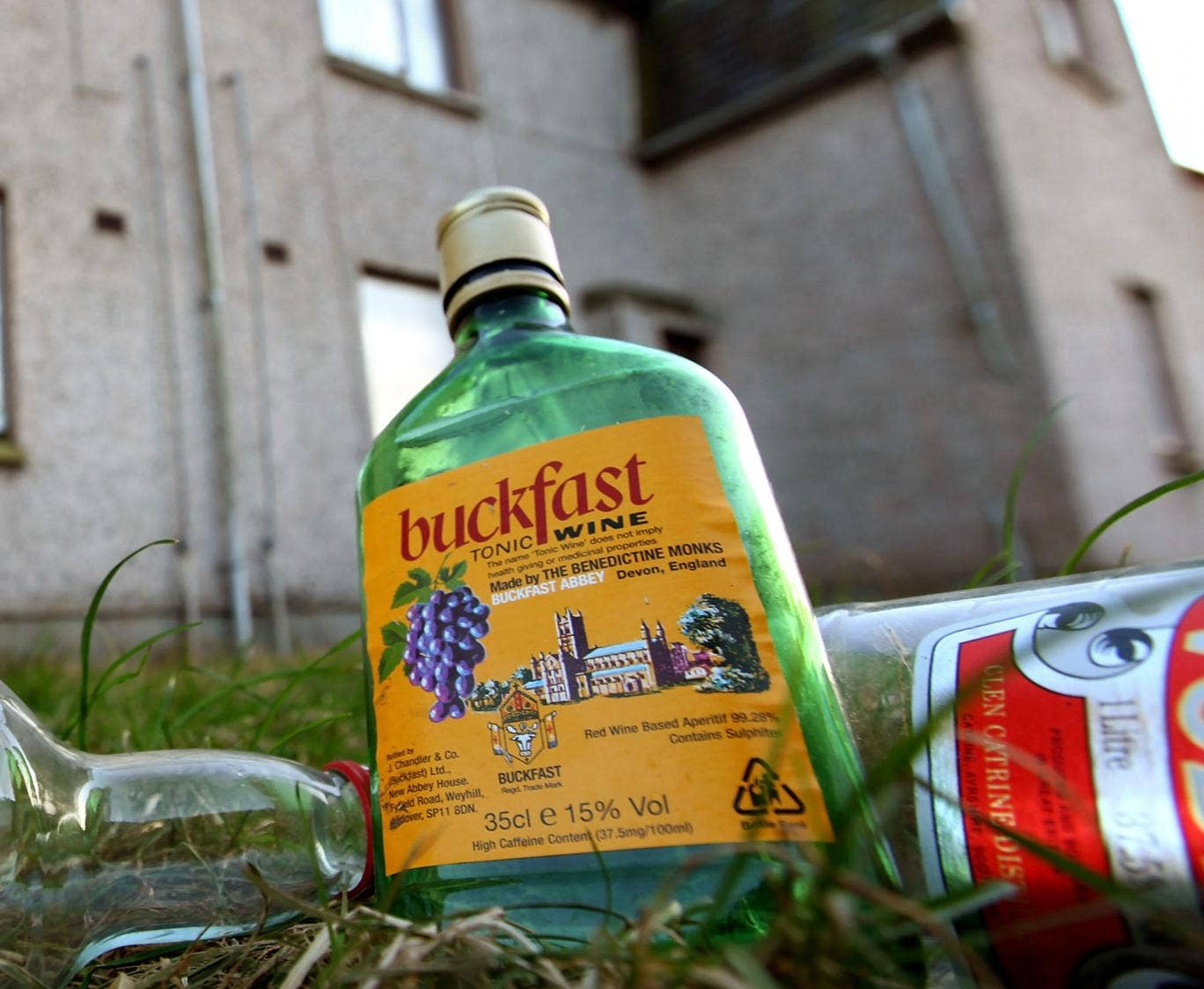 Buckfast contains 12 per cent alcohol and high levels of caffeine