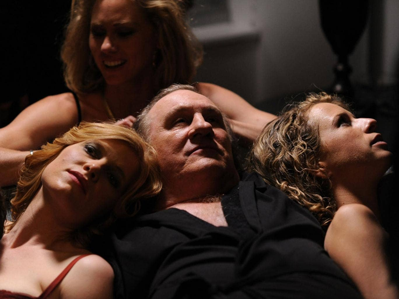 Gérard Depardieu stars as Mr Devereaux (or could it be Mr Strauss-Kahn?) in 'Welcome to New York'