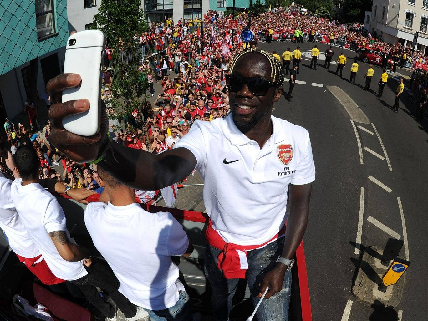 Bacary Sagna looks to have played his last game for Arsenal