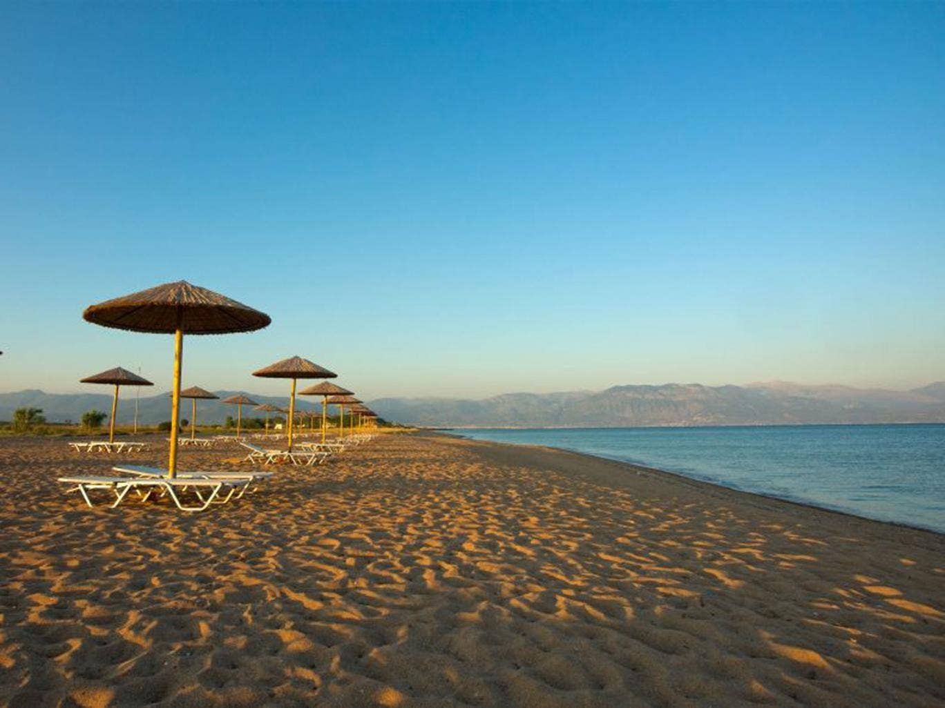 The Messini Beach Club in Greece offers a range of watersports