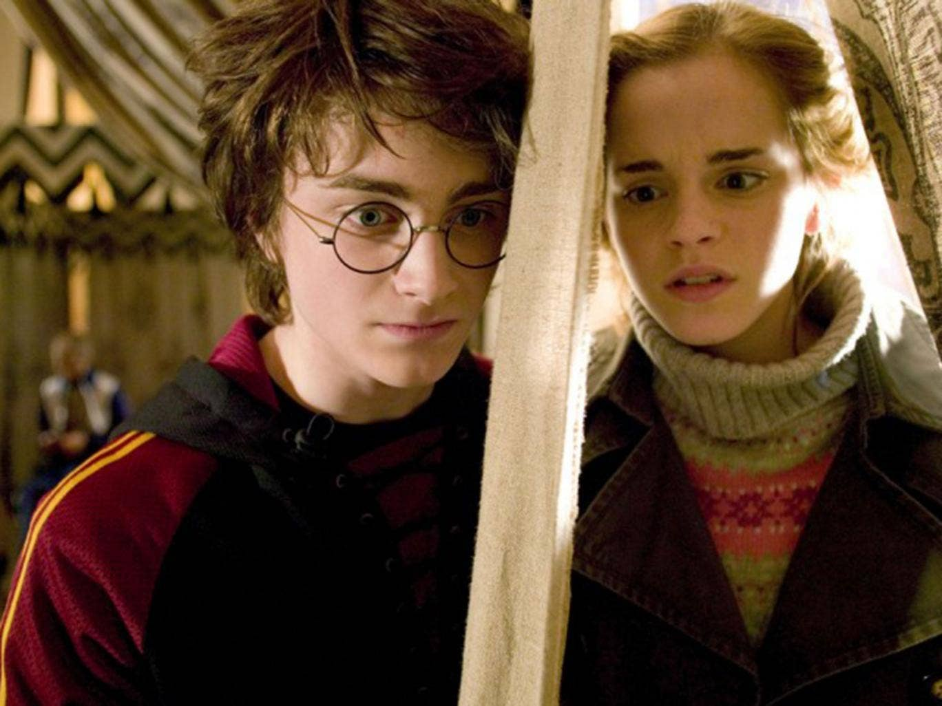 The love that never was:Harry and Hermione