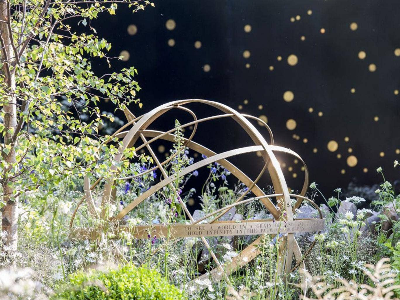 Harry and David Rich's Night Sky Garden is set to star at this year's show