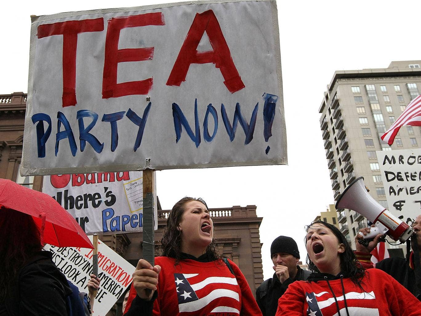 Tea Party candidates are trailing badly in the polls