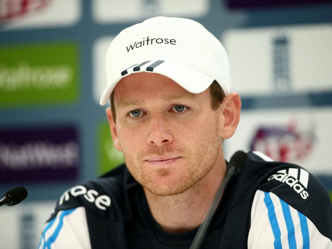 Eoin Morgan captains England after Stuart Broad's knee injury