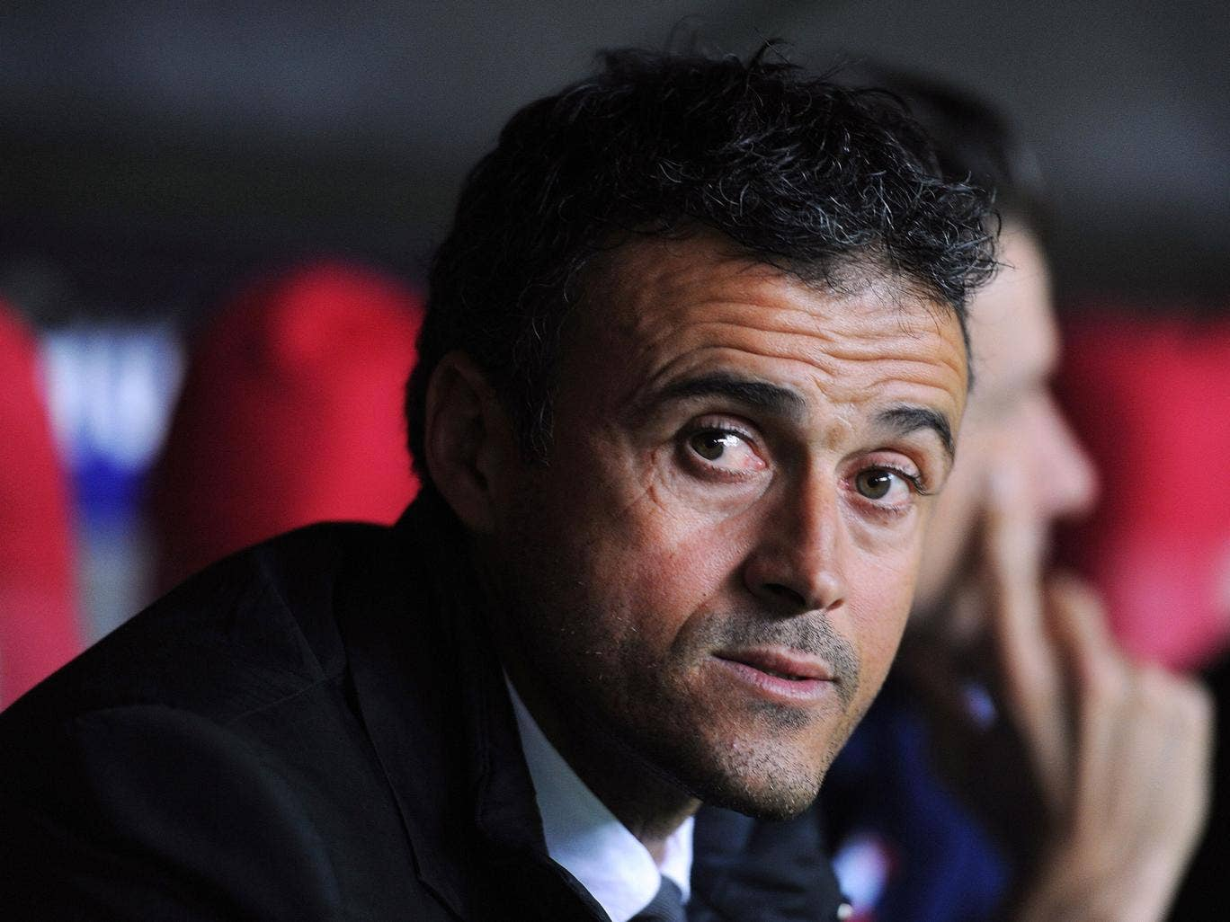 Luis Enrique was a Barca Player from 1996 to 2004 (Getty)