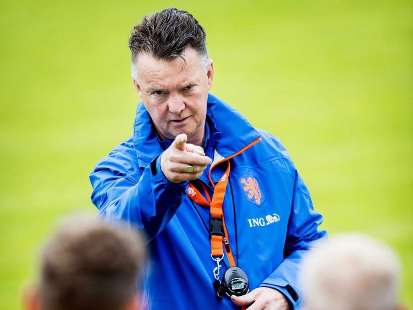 Louis van Gaal has promised that he will restore United's pride