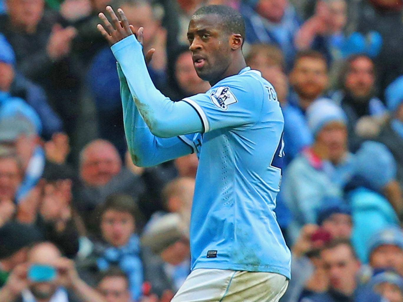 Manchester City claim Yaya Touré received a birthday cake, a Facebook post and had 'Happy Birthday' sung to him