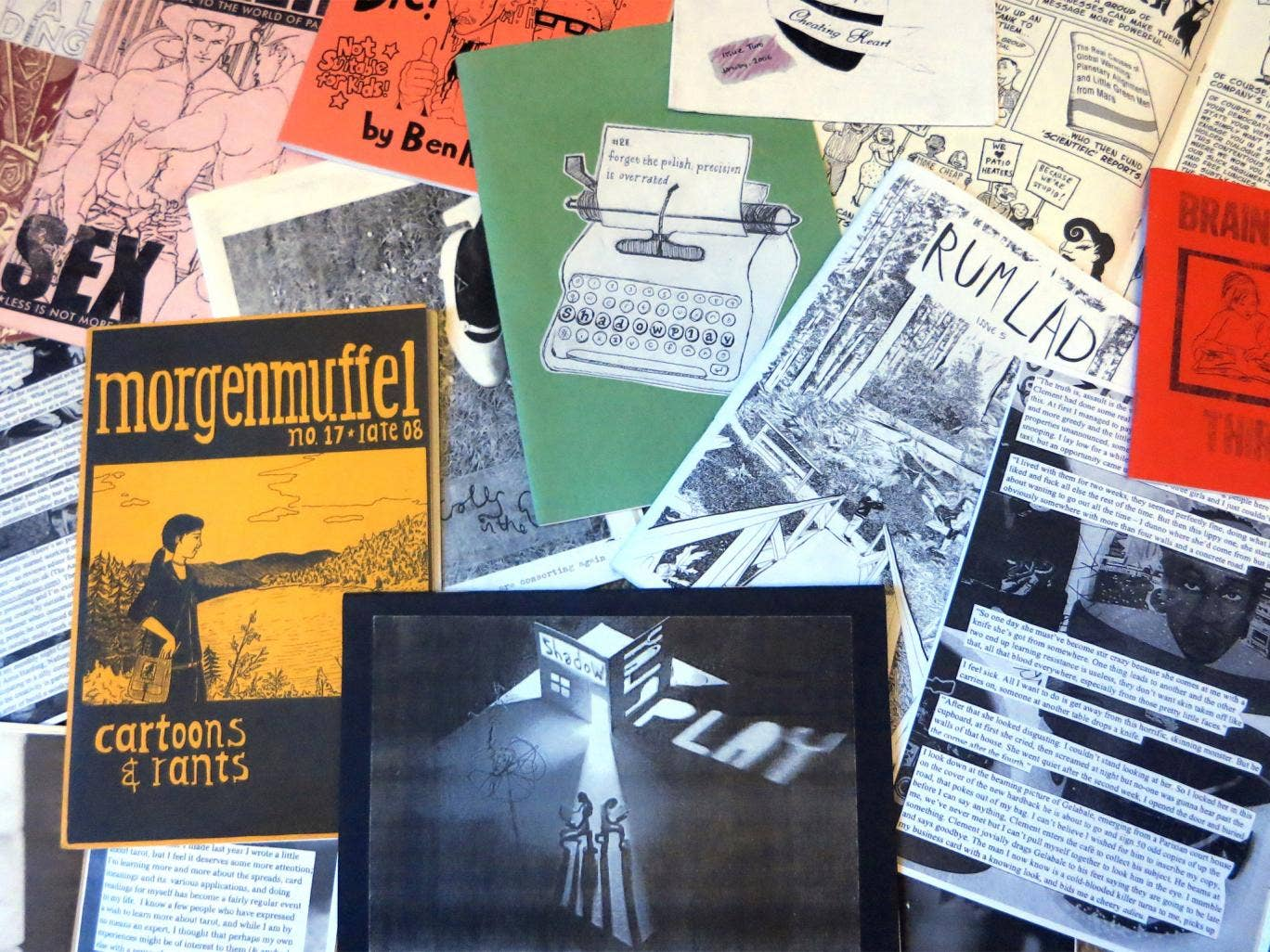 Cut and paste: a selection of the writer's fanzine collection