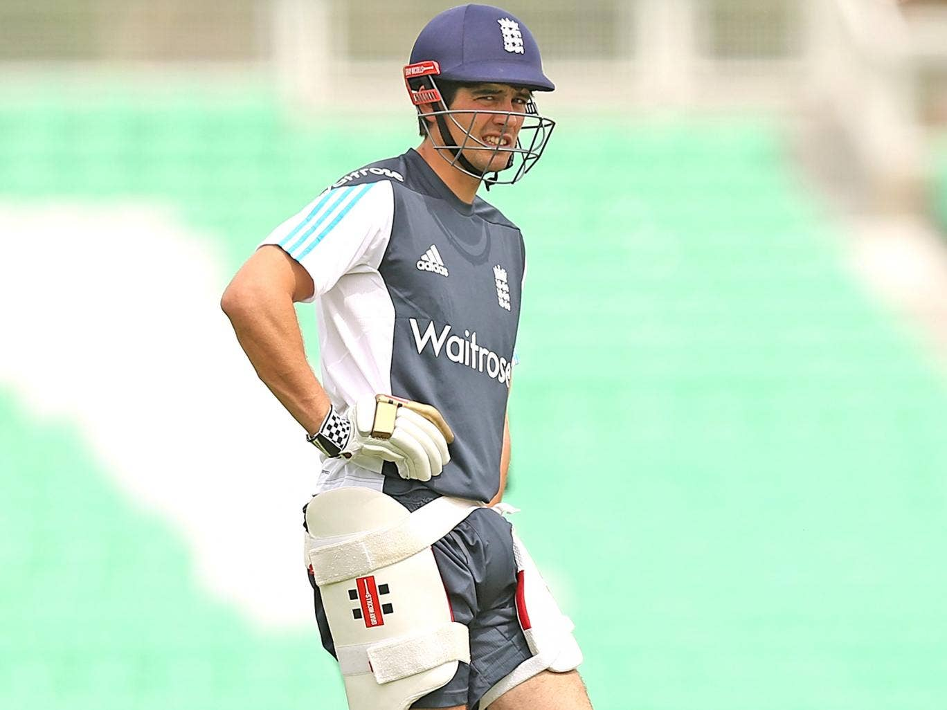 The England captain, Alastair Cook, has only nine months to build a team to win the World Cup