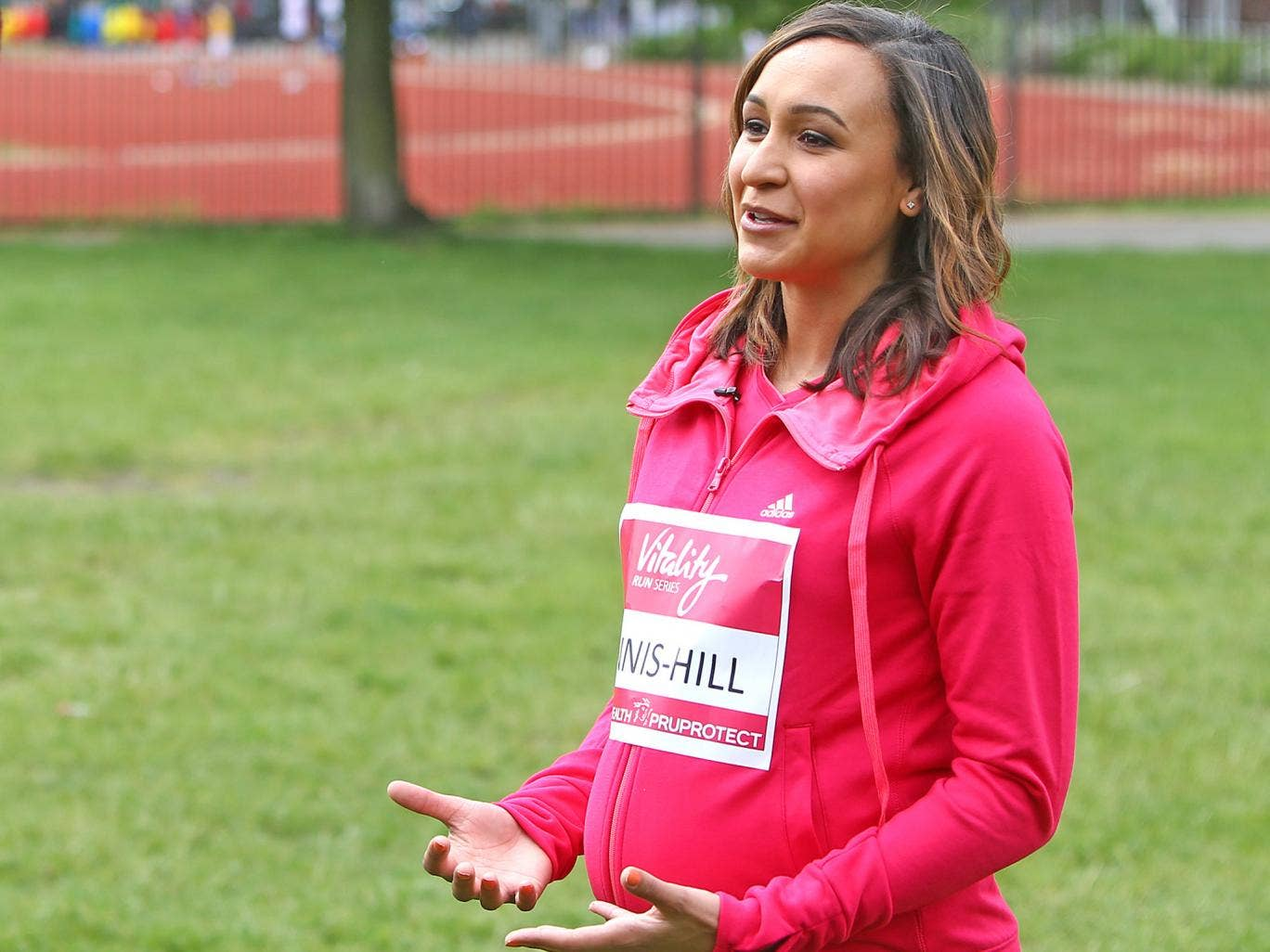 Jessica Ennis-Hill has spoken to athletes such as Shelley Rudman for advice on returning from pregnancy