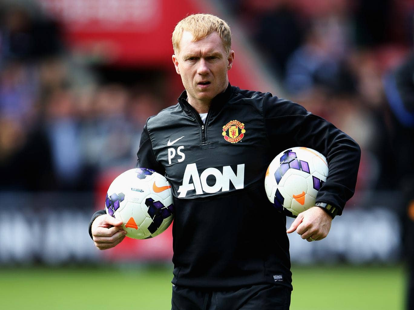 Paul Scholes looks set to leave Manchester United after he admitted he doesn't expect to be part of Louis van Gaal's coaching set-up