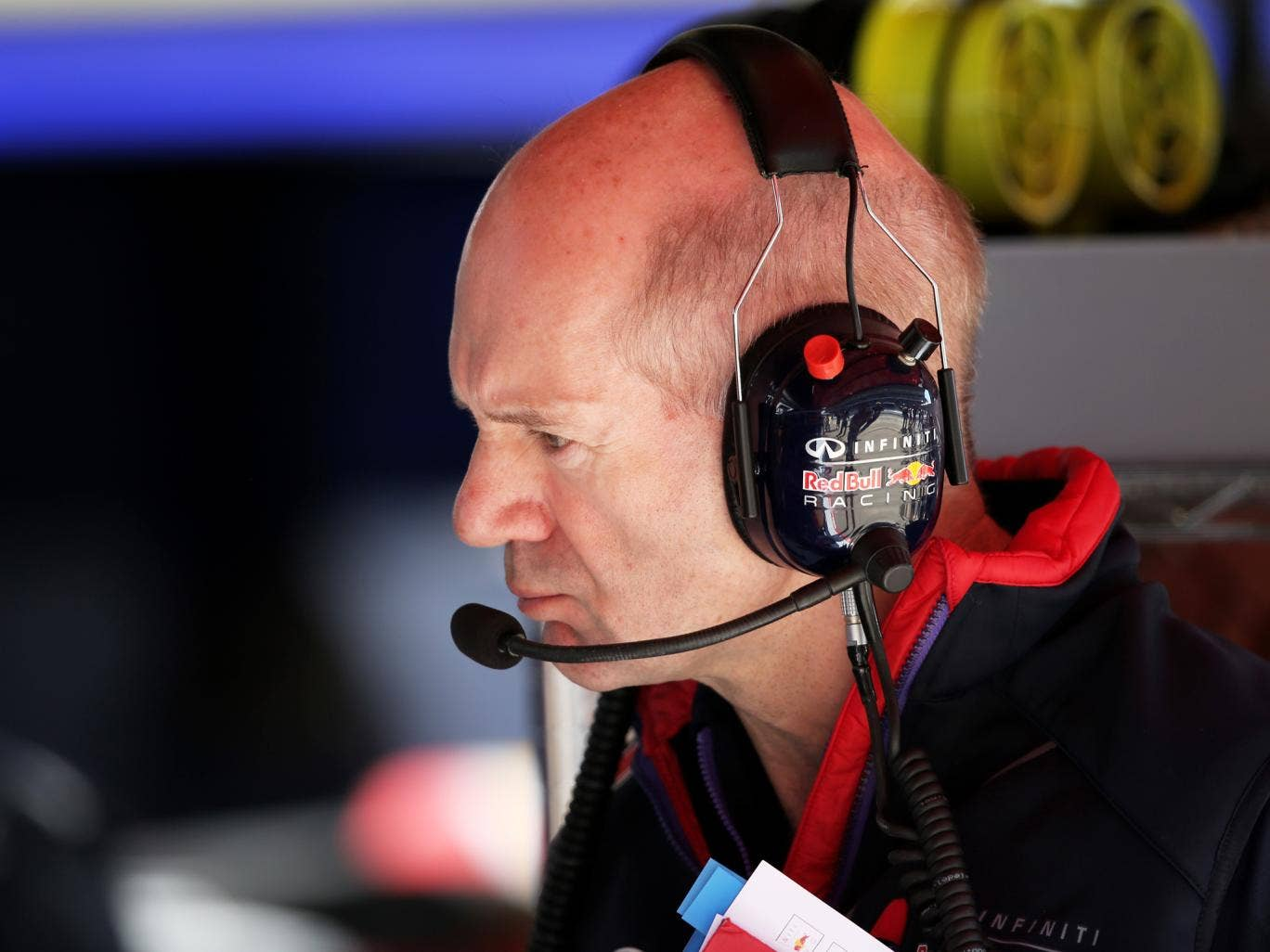 Adrian Newey has rejected talk of a move to Ferrari