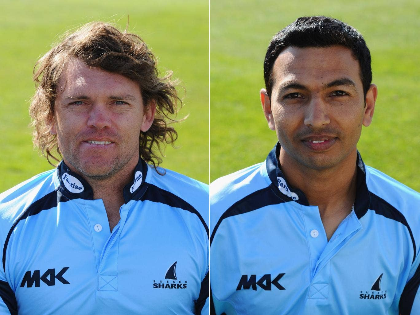 Lou Vincent and Naved Arif