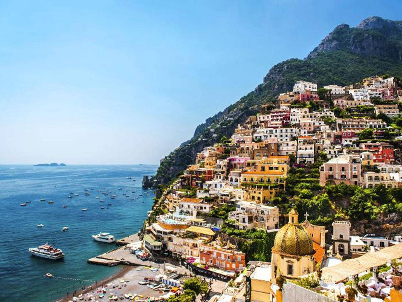 Picture perfect: the Amalfi Coast