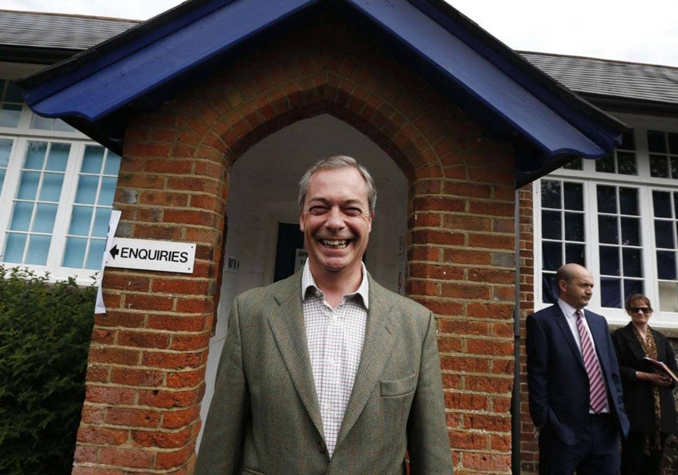 Nigel Farage faces punishment from Electoral Commission