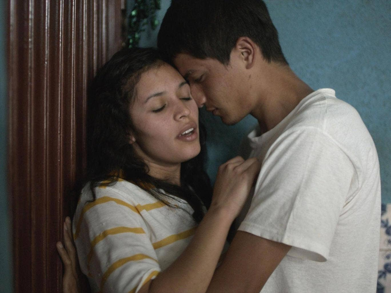 Linda González and Armando Espitia in 'Heli'