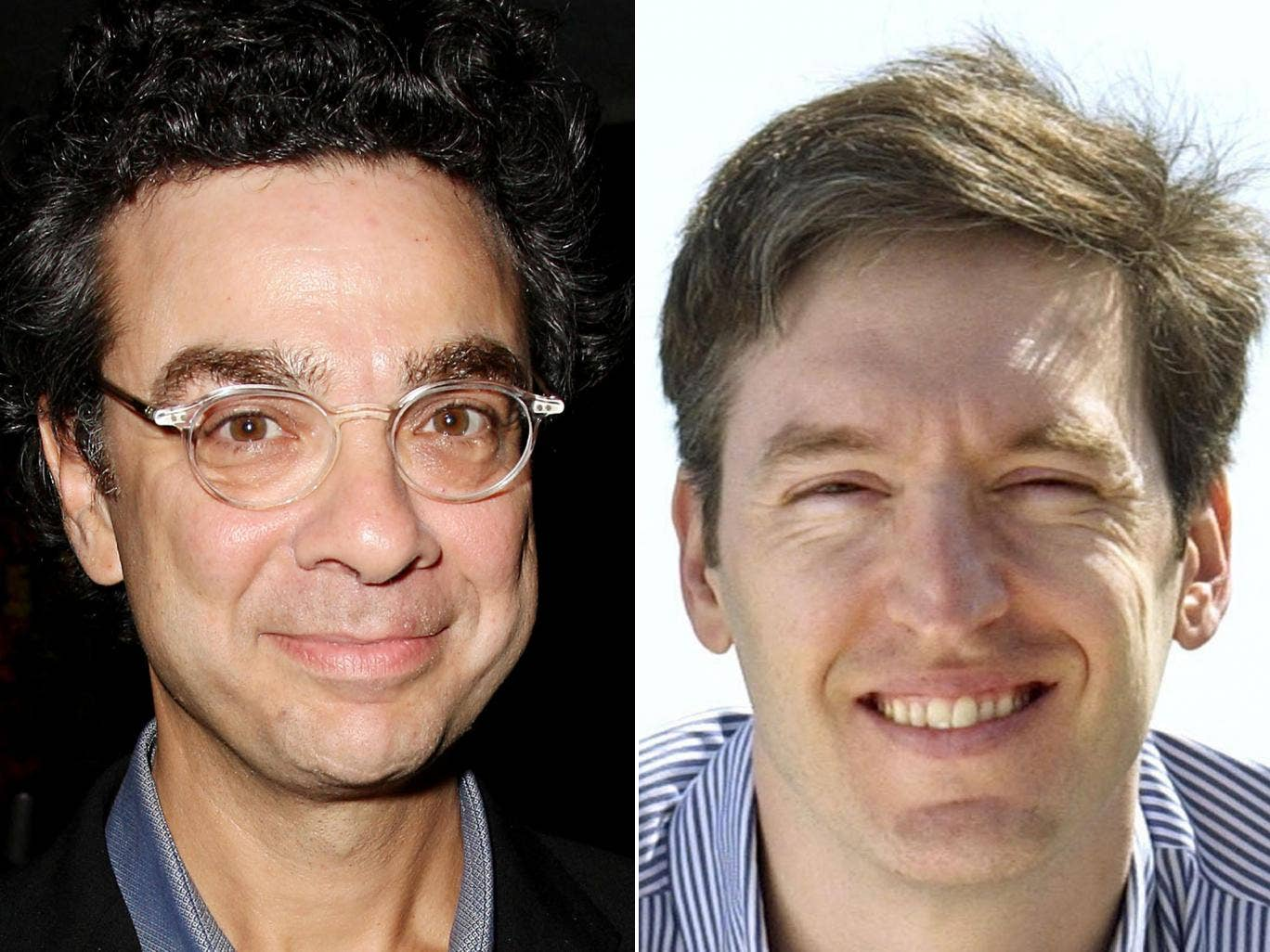 Stephen J Dubner (right) and Steven D Levitt, who have written 'Think Like A Freak', a follow up to 'Freakonomics'
