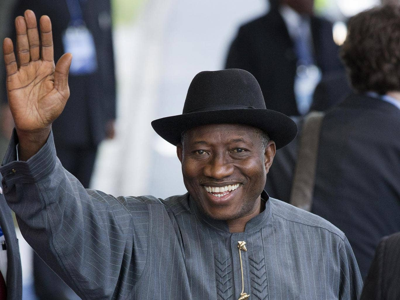 President of Nigeria Goodluck Jonathan cancelled a second visit