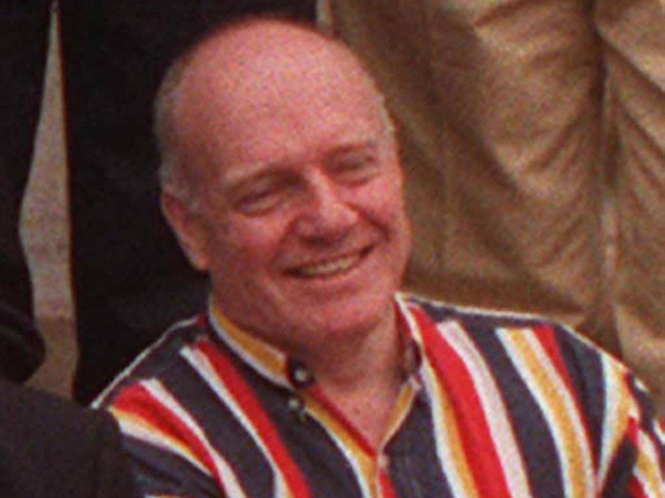 Chris Denning at a gathering of ex-Radio 1 DJs in 1997
