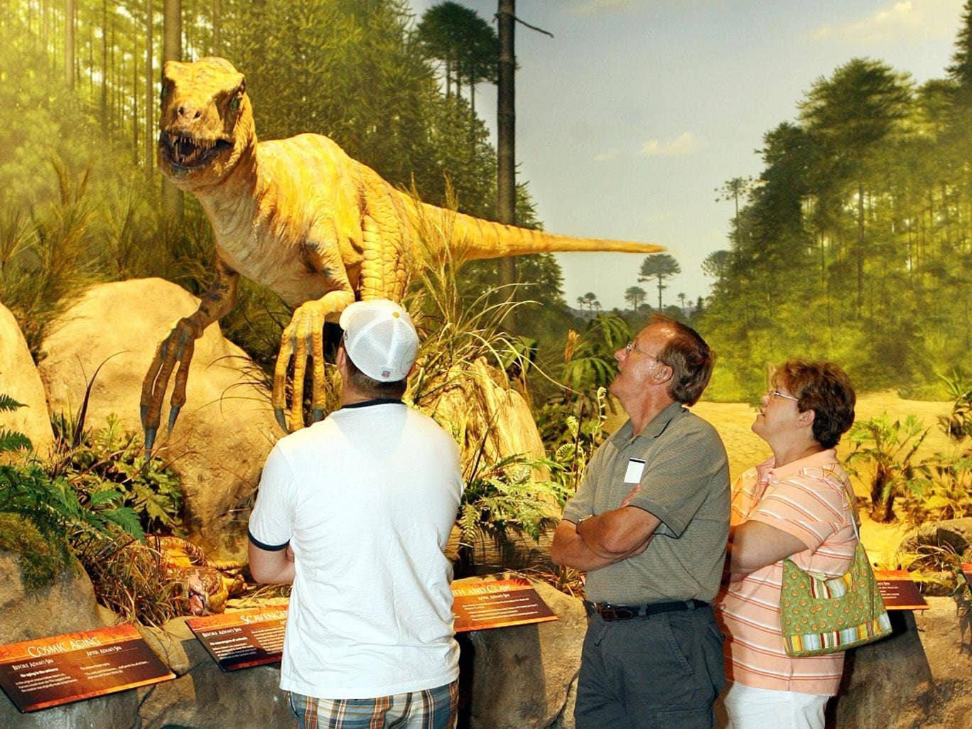 Mainstream science says the allosaurus, a creature similar to the Tyrannosaurus rex, lived in North America about 140 million years ago in the late Jurassic Period