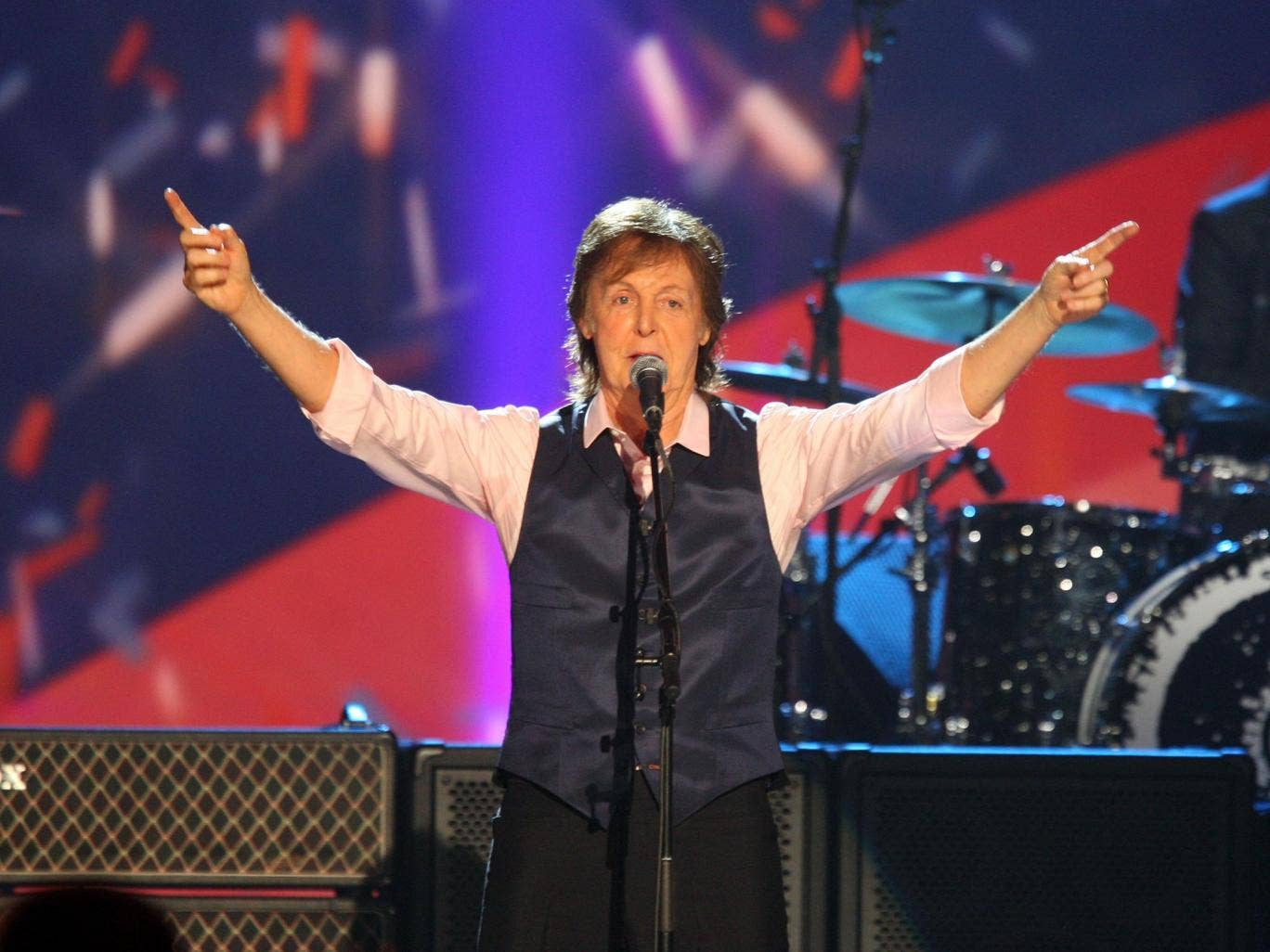 McCartney's Out There Tour was expected to see him perform 58 shows and earn him a cool $105.8 million in ticket sales