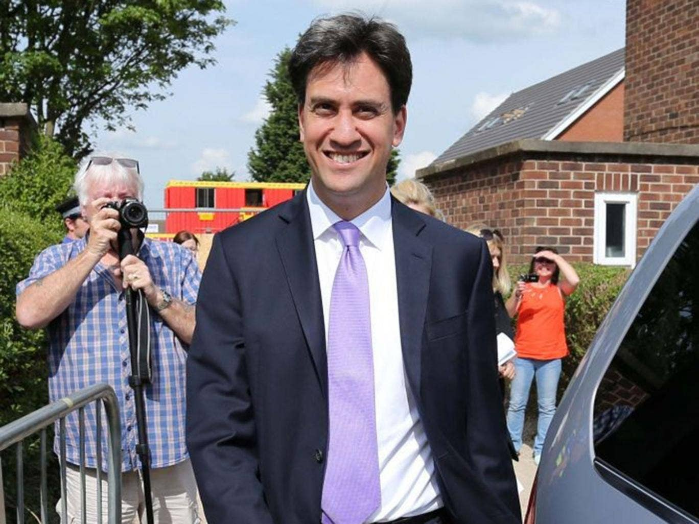 Ed Miliband will have no chance of making it to Downing Street unless he wins in Thurrock, where the Tories hold the parliamentary seat by a tiny majority