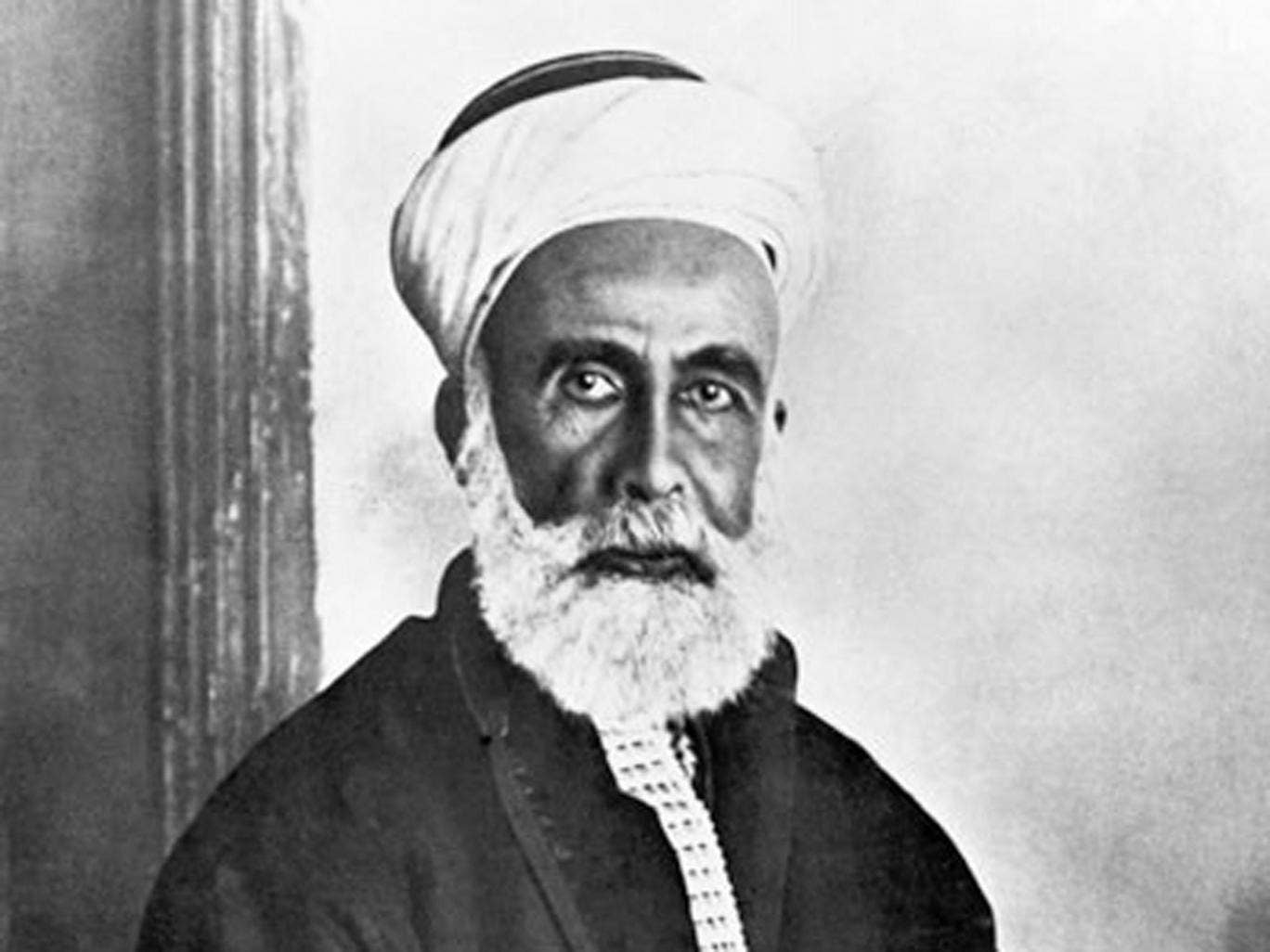 One of the architects of the revolt: Sharif Hussain, religious leader of Mecca