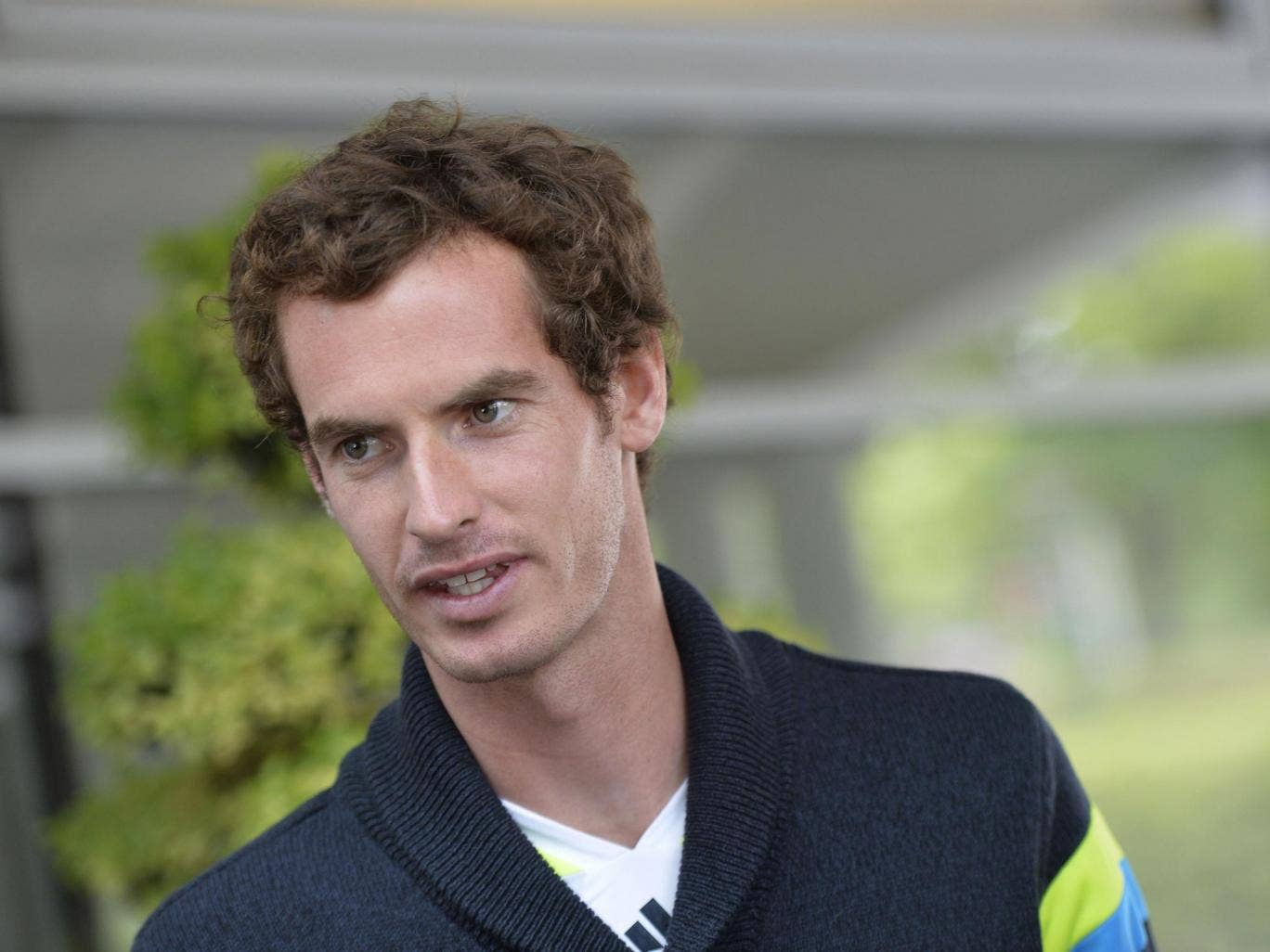 Andy Murray will face Andrey Golubev, the world No 55 in the first round