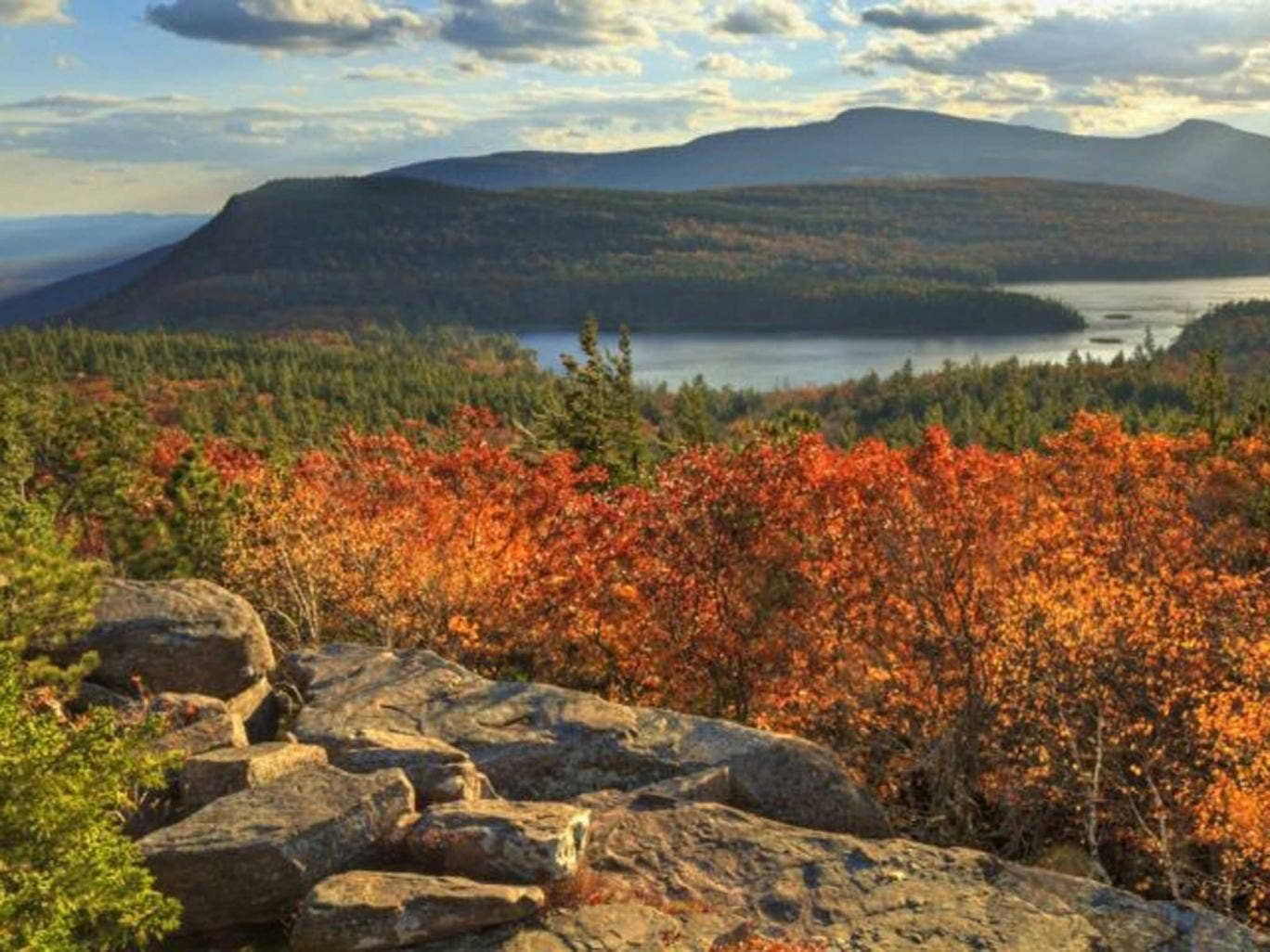 State visit: Lakes and mountains of the Catskills