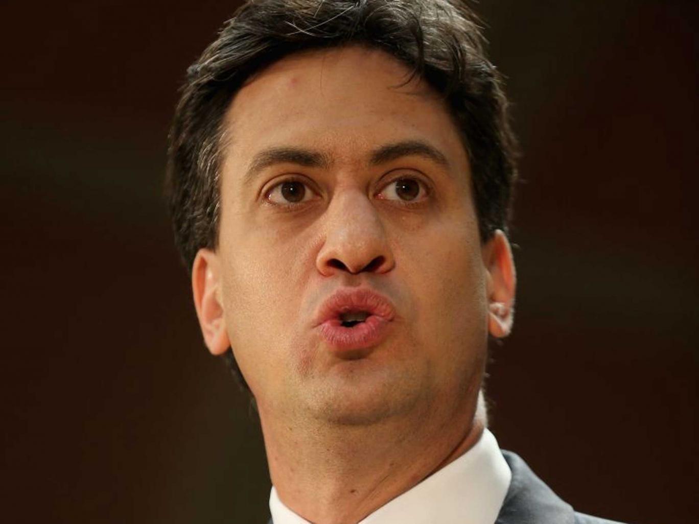 Restoring trust: Ed Miliband