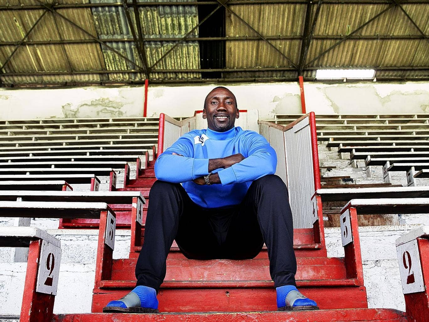 Stand and deliver: From where Jimmy Floyd Hasselbaink is sitting, it's all about managerial ability