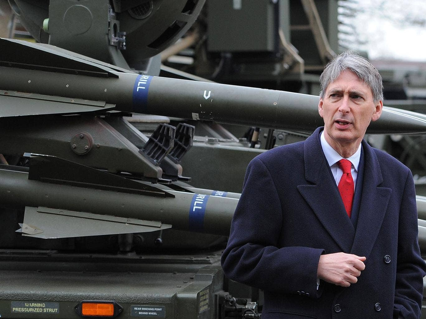 Philip Hammond, the Defence Secretary: his department could not explain how it had underspent by £1.2bn