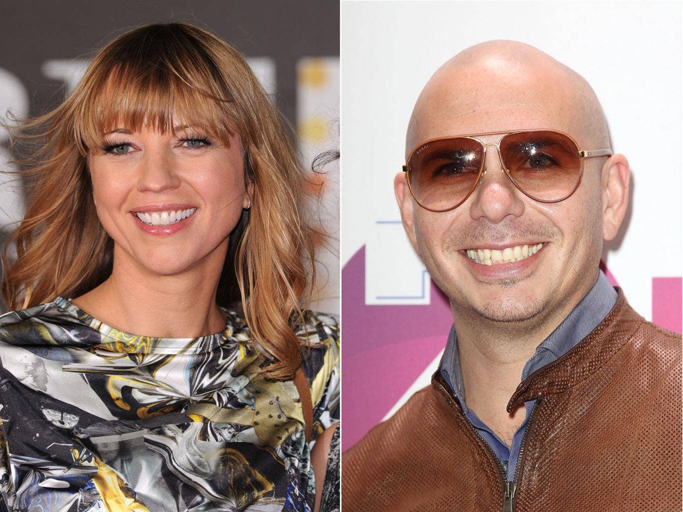 """DJ Sara Cox, left, said of Pitbull: """"(He) makes my soul weep with the way he sings about women. I couldn't bear playing that"""""""