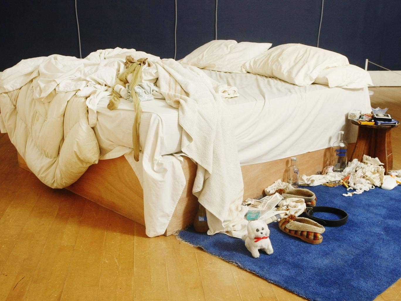 Tracy Emin's 'My Bed' was initially sold to Charles Saatchi for a reported £150,000