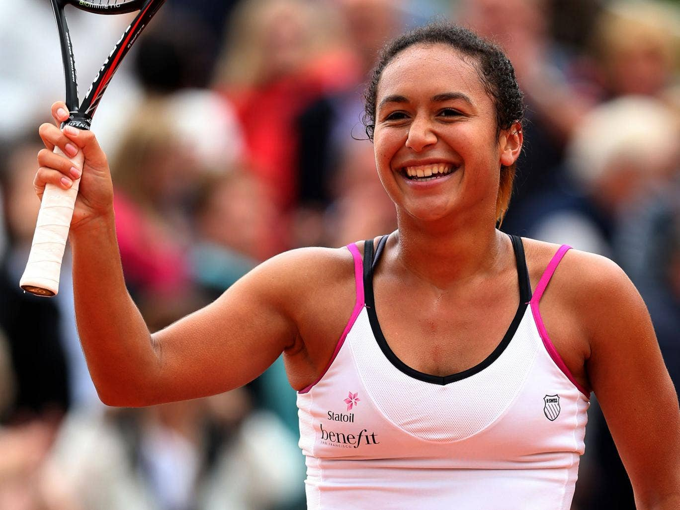 Heather watson fit and ready to rise back up the rankings tennis